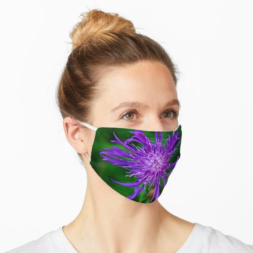 Kornblume Maske