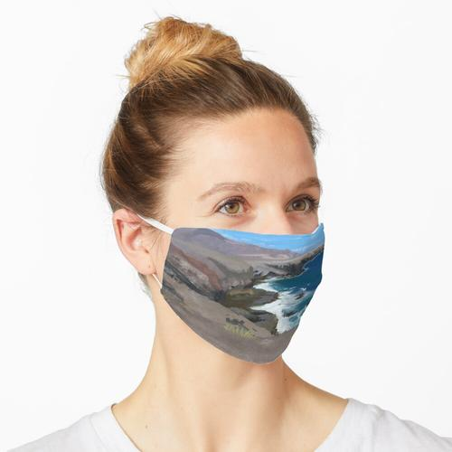 Lanzarote Landschaft Maske