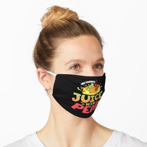 Birnensaft Maske