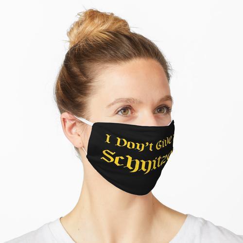 Ich gebe kein Schnitzel Maske
