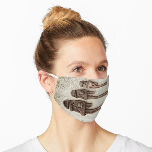 Rohrzangen-Trio Maske