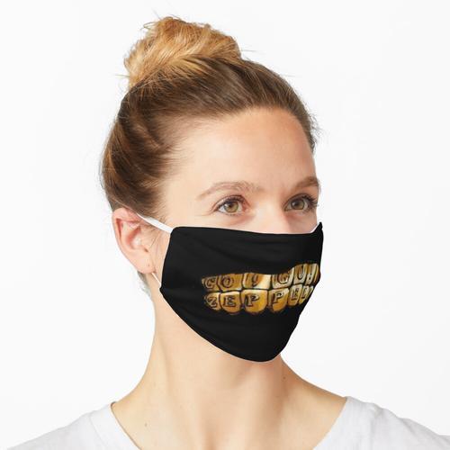 Gyros Zähne Maske