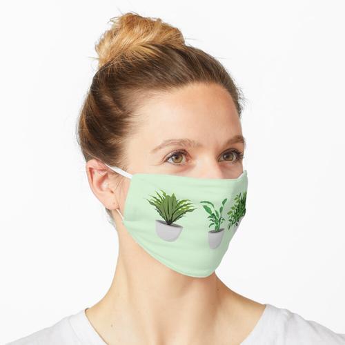 Für die Liebe zu Topfpflanzen! Pflanzenliebe! Maske