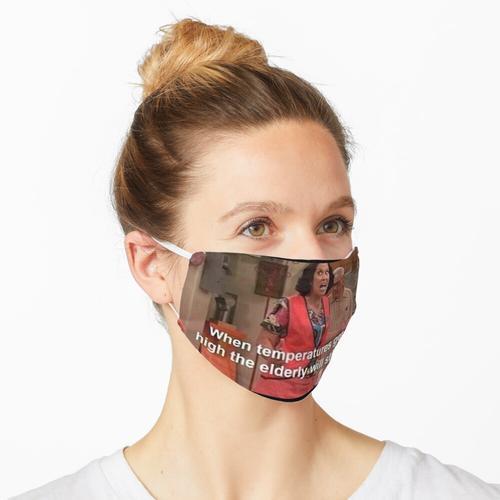Temperaturen Maske