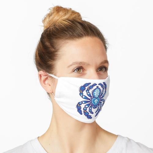 Poecilotheria metallica Maske