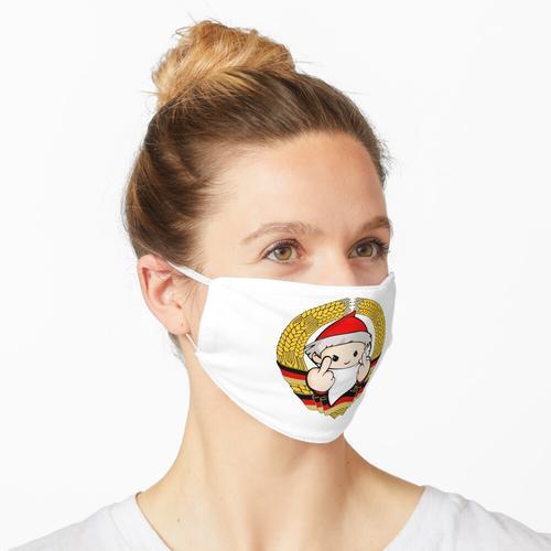 Sandmann mit Stinkefinger Maske