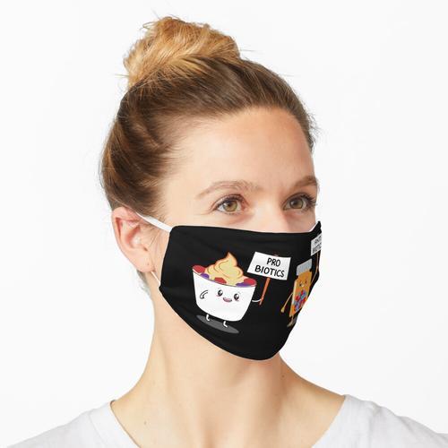 Probiotika Antibiotika Maske