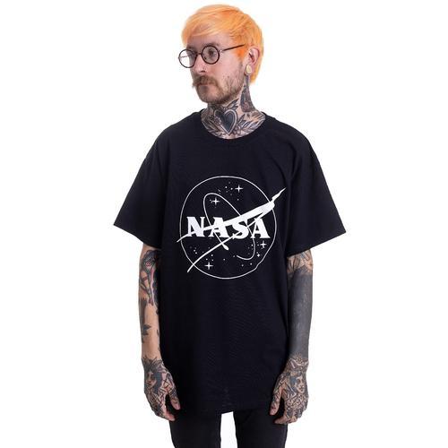 NASA - Insignia Logo BW - - T-Shirts