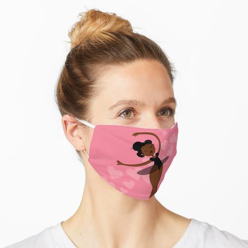 Schwarze Ballerina Maske
