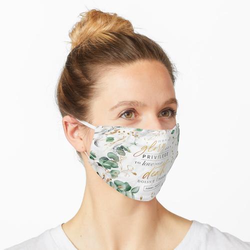 Ruhm und Privileg Maske