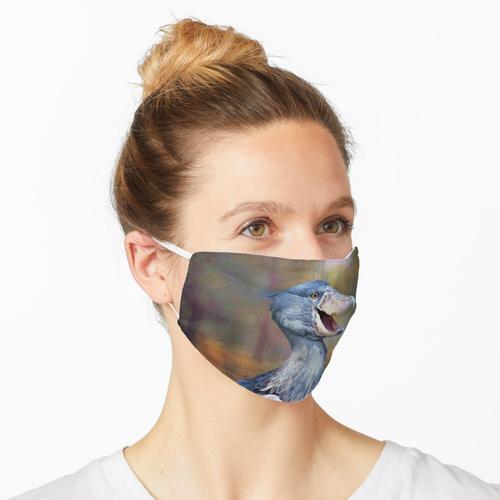 Schuhschnabel Maske