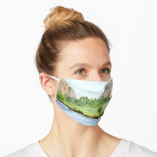 Brautschleier fällt - Yosemite Nationalpark Maske