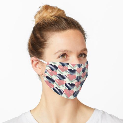 Pastellfarben Maske