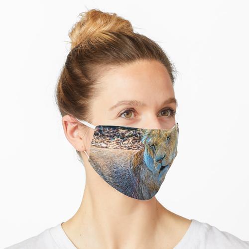 Löwe Panthera Löwe Maske