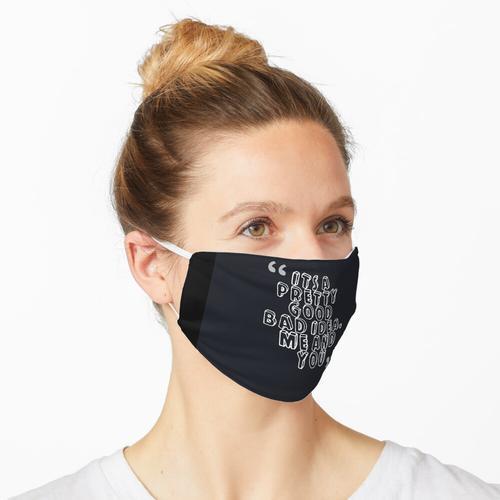 Kellnerin Maske