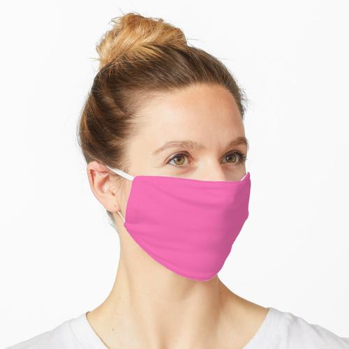 Preiswerteste feste helle Pink-Farbe Maske