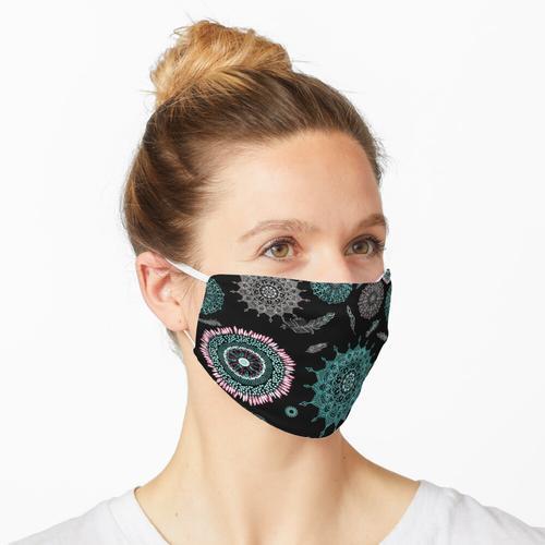 Boho Medaillons Maske