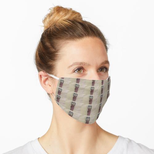 Gürtelschnalle Maske