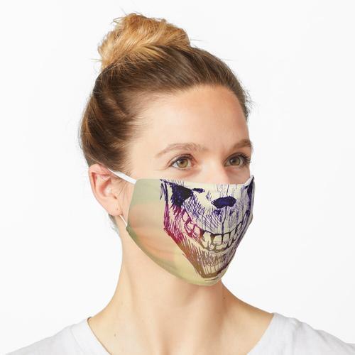 Blasenschädel Maske