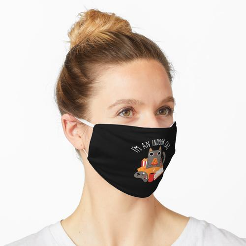 Indoor Cat Maske