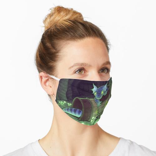 Radioaktive Geckos Maske