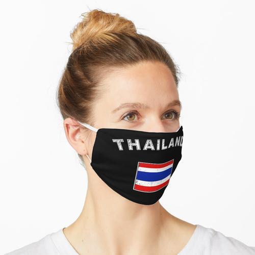Thailand thailändisch Flagge Fahne Bangkok Maske