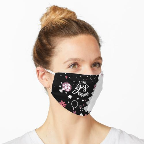 Hochzeitskleid Maske