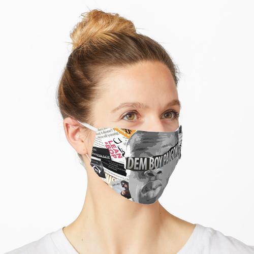 J HUS SCRAPBOOK Maske