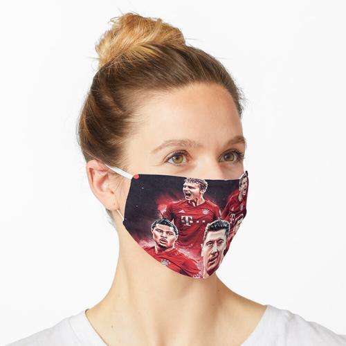 Tapete Lewandowski Art Maske