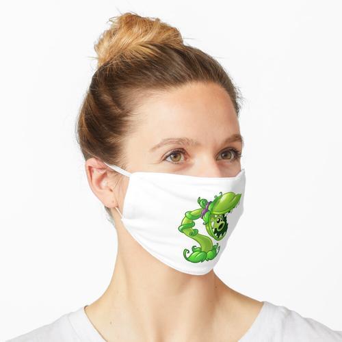 Zuckererbse Maske