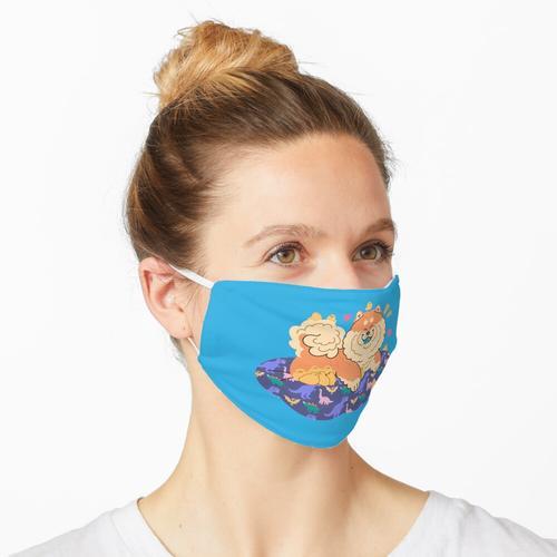 Flauschige Firma Maske