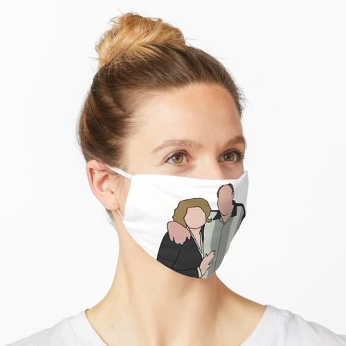 Tony und Carmela Maske