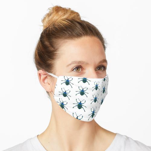 Blauer Rüsselkäfer Maske