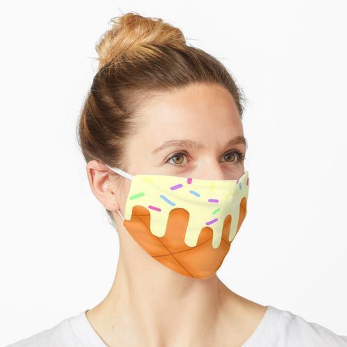 Vanille-Eiscreme Maske