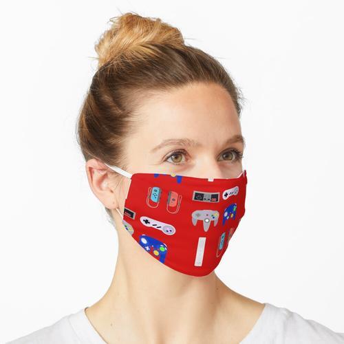 Videospiel-Controller 4 Maske