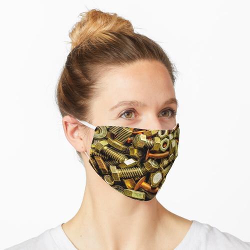 Muttern Schrauben Nieten Maske