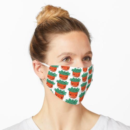 Topfpflanze Maske