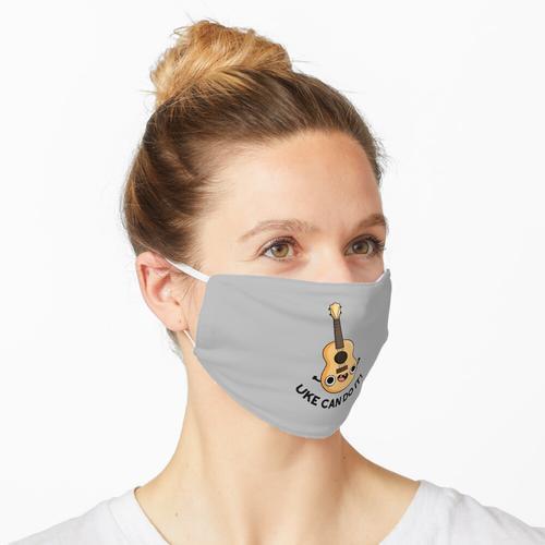 Uke kann es Wortspiel tun Maske