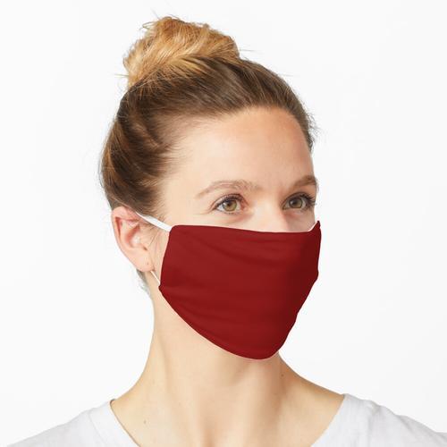 Farbe kastanienbraun Maske