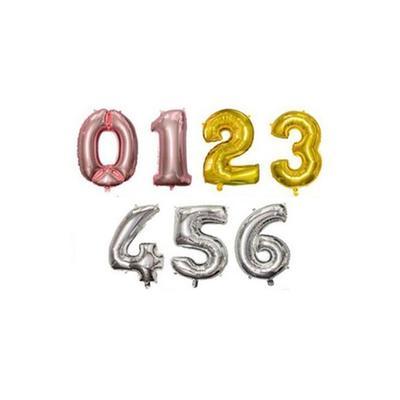 Ballon anniversaire : Chiffre 9 ...
