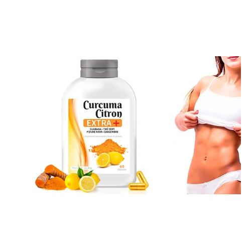 Kurkuma und Zitrone+ Kapseln: 360 Kapseln (6 Monate)