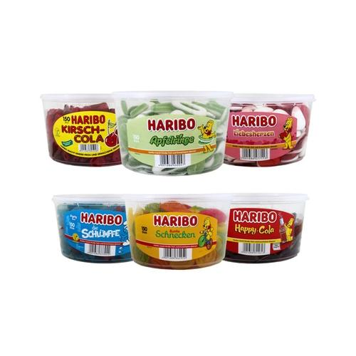 Haribo : 3x Haribo Saure Apfelringe