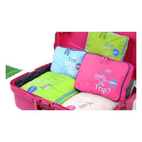 5er-Gepäcktaschen-Set: Blau/1