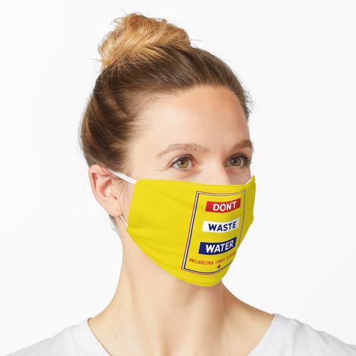 Kein Abwasser - WPA Maske