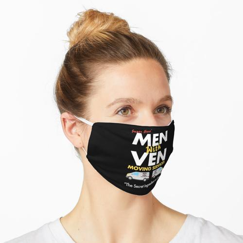 Super Hans 'Männer mit Ven Umzugsservice Maske