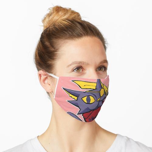 Piratenkatze Maske
