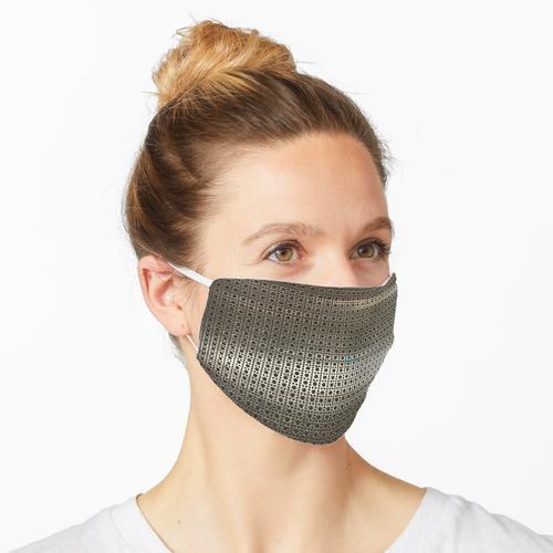 Gestanztes Metall - Rund Maske