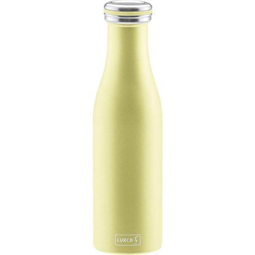 Isolierflasche Edelstahl, gelb