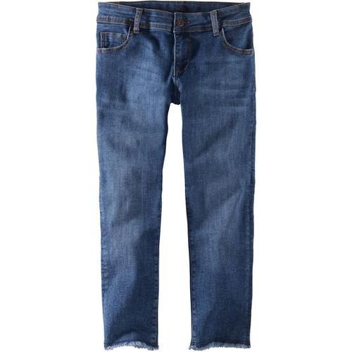 Jeans Fransen, blau, Gr. 158