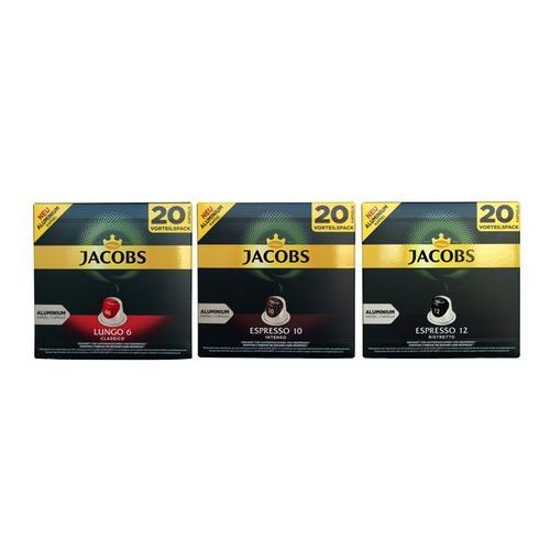 Röstkaffee : 2x Jacobs Kapsel-Set Probier-Paket